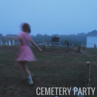 cemetery party