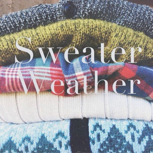 sweater weather<3