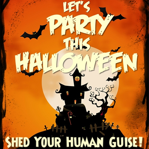 let's party this halloween