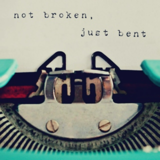 not broken, just bent