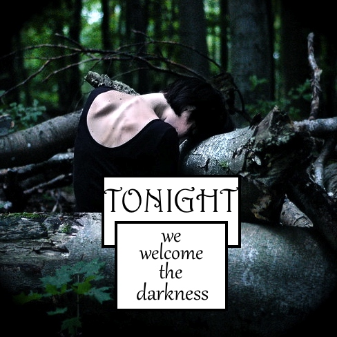 tonight we welcome the darkness