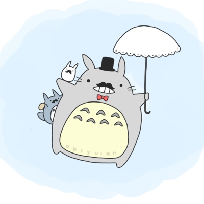 I might look like a Totoro, but I have a lot of love to give