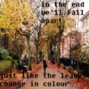 songs to listen to on an autumn walk