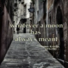 whatever a moon has always meant