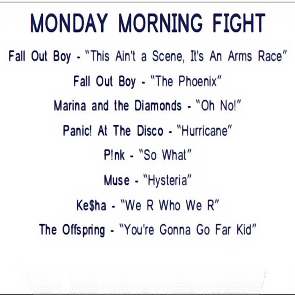 Monday Morning Fight