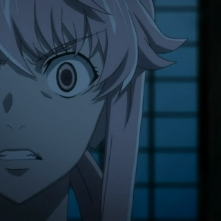Yuno Gasai Crazy Eyes