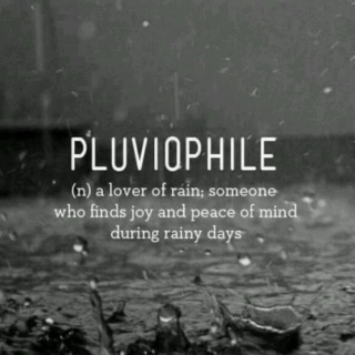 i love rainy days