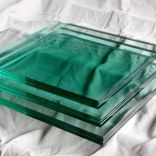Solid Tempered Safety Glass