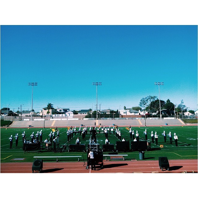 marching band shows