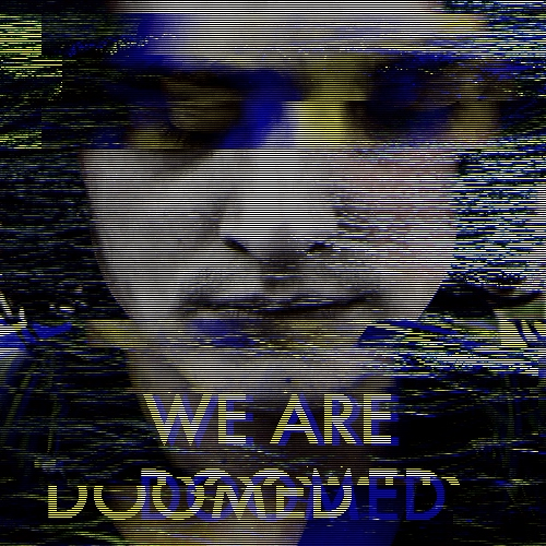 we are beautiful : we are doomed
