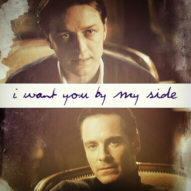 I want you by my side