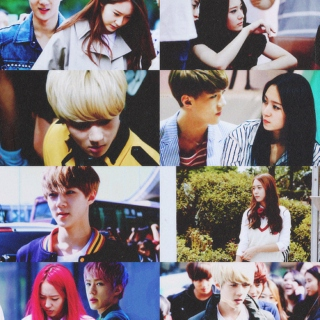 {sehun x krystal} could I lock in your love, baby?