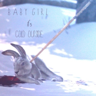 baby girl, it's cold outside