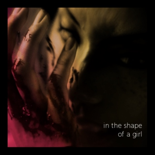 in the shape of a girl