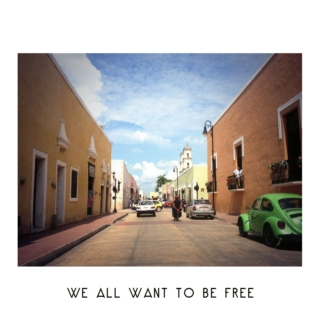 We All Want To Be Free