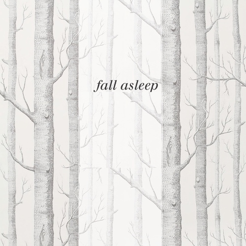 fall asleep;