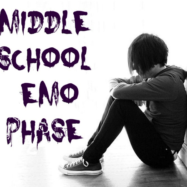 Middle School Emo Phase