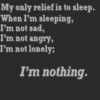 I'm not sleepy yet, too busy thinking...