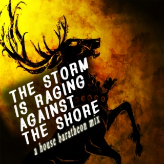 = the storm is raging against the shore =