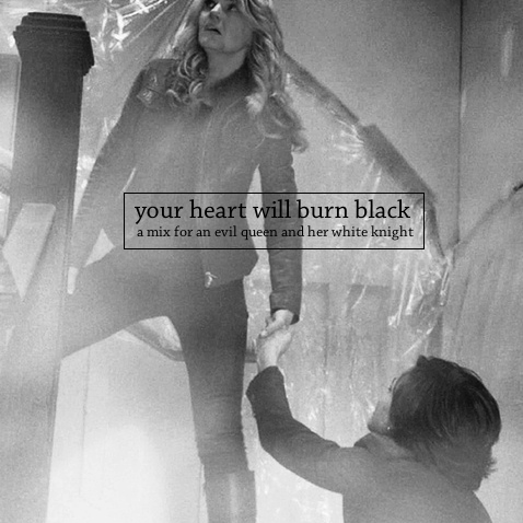 your heart will burn black