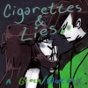 Cigarettes and Lies-a blue/green mix