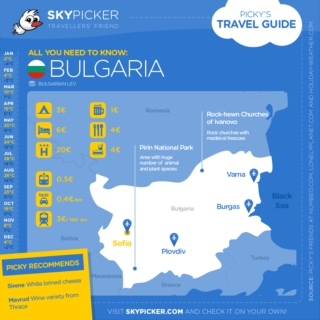 Skypicker destination: Bulgaria