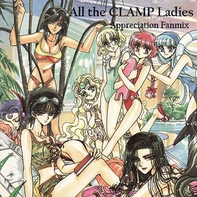 All the CLAMP Ladies