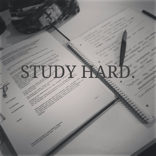 Study hard & chill out