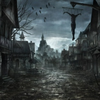 The Town Is Being Devoured By Darkness...
