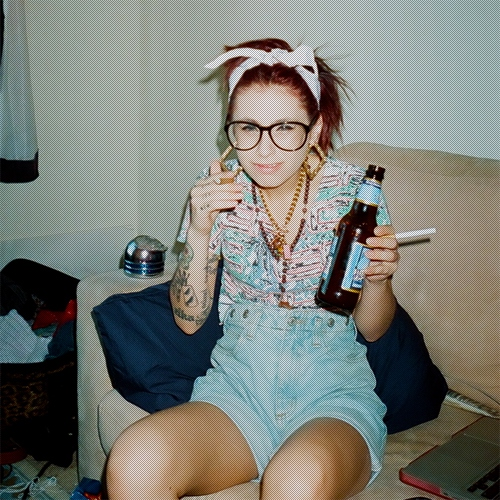 i would take a bullet for kreayshawn