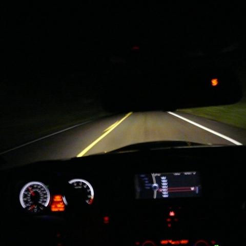 A Cold Night Drive