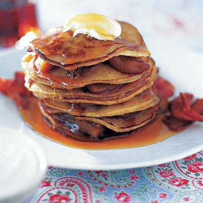 Bacon-flavoured Pancakes