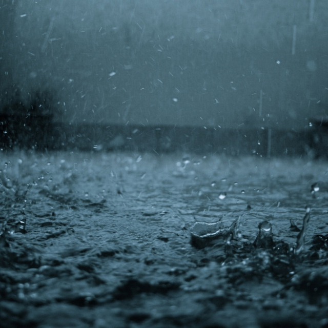 If people were rain, I was drizzle and she was a hurricane. (The Rain Melody)