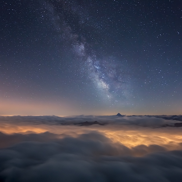 Lost on the milky way