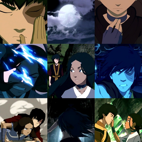 Rise with the Moon; a Katara/Zuko Fanmix