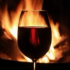 Red Wine, Lovers, Books & Fire