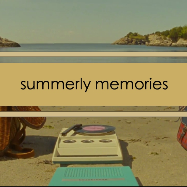 summer mix #3 - summerly memories