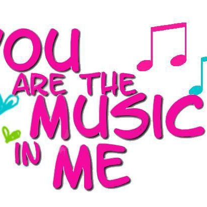 you R the music N me!