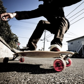Sunshine Mix for Longboarding