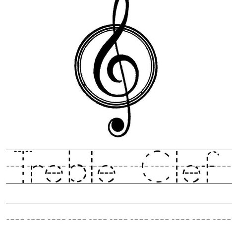 21 Treble Clefs and a Minor Third