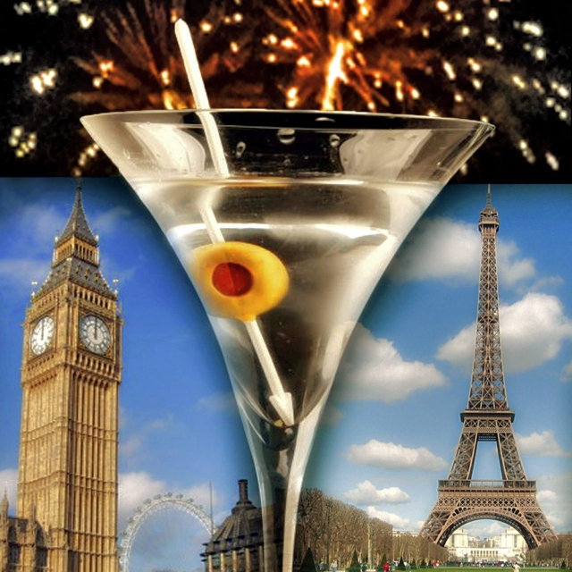 London to Paris. Shaken, not Stirred.
