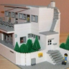 I will build a house of lego, only for us