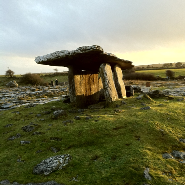 Enter the dolmen