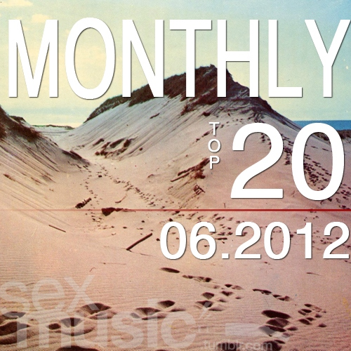 monthly top 20 // 06.2012
