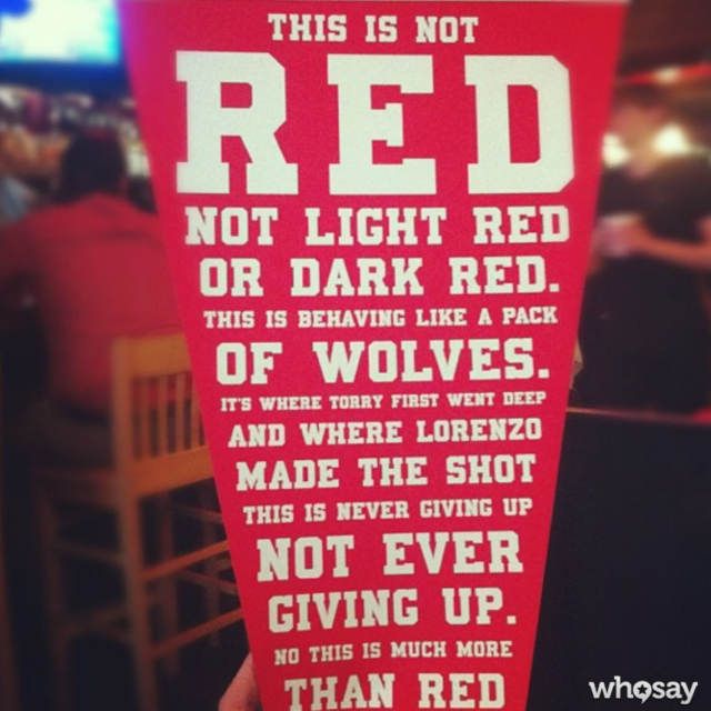 this is not red