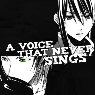 a voice that never sings