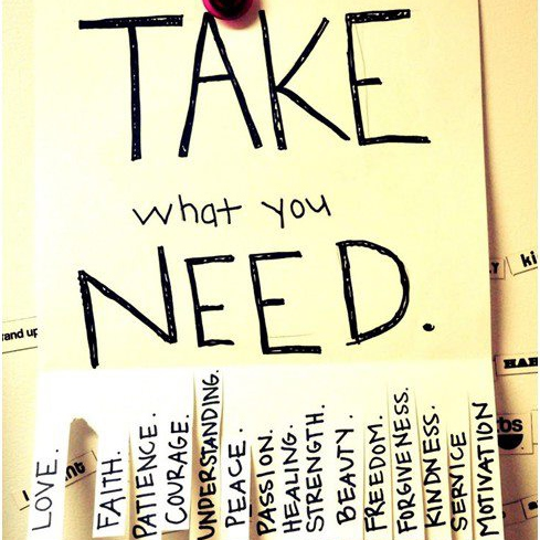 What You Need is Here