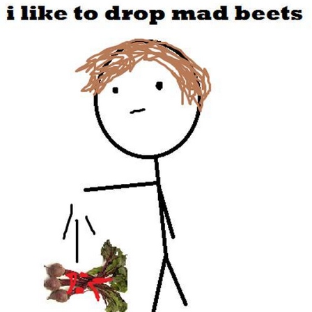 I drop them mad beats
