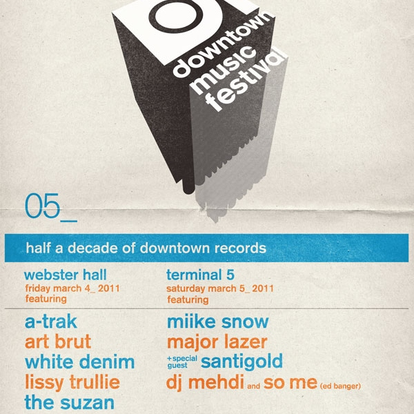 Downtown Music Fest Sampler