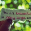 You Are Strong And Beautiful